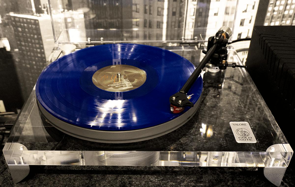 Gold Note Valore 425 Plusskivspelare Studiokoncept