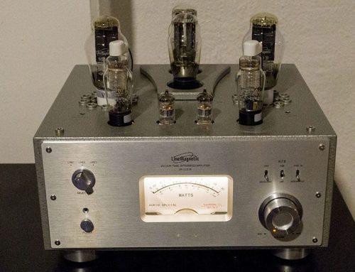 Begagnad LM-210 IA med 300B rör.